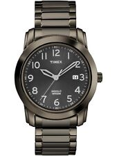 Timex Indiglo men's stainless steel watch expansion band T2P135 New +Tag