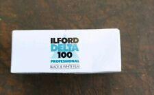 Ilford Pre-owend Date Expired Delta 100 120 Black & White Film worldwide postage