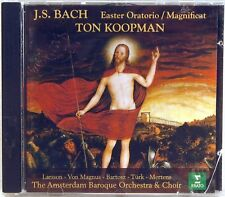 ERATO Bach KOOPMAN Easter Oratorio/Magnificat (CD, 1998, GERMANY) 3984-23416-2
