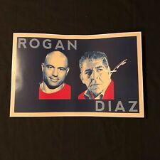 Signed Joey Diaz Poster w/ Exact Proof (Joe Rogan Podcast Comedy Autograph)