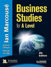 Business Studies for A-Level by Nigel Watson, Marie Brewer, Malcolm Surridge, I…
