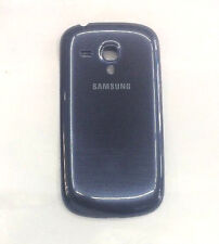 Genuine Samsung Galaxy S3 Mini  Battery Back Cover Case - Pebble Blue - Grade A