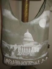 Robin Ruth WASHINGTON DC Cross-Body / Shoulder Bag GRAY Adjustable Strap