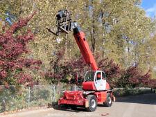 2010 Manitou Mrt 2150P 11K Telehandler Rotating Reach Forklift Cab A/C bidadoo
