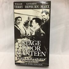""""""" Hollywood Classics - Stage Door Canteen(1943) VHS """" ~ Usedhandhelds"""