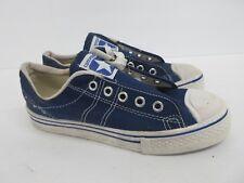 Vintage Retro Converse in Blue Canvas 60s/70s Kids' Size: 2.5