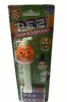 Glow In The Dark Pumpkin Head Pez Dispenser On Original Card Halloween Pez 2002