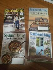Southern Living Magazines Lot of 4 back issues Jan-April 2019 used very good