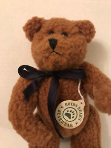 Boyd's Bears Bearwear Jointed Brown With Tag 8""
