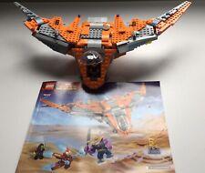 LEGO 76107 Marvel Super Heroes Thanos Ultimate Battle 80% Incomplete Set