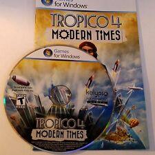 Tropico 4: moderne Zeiten (PC, 2012) umfasst einfügen und Produkt Key 1578