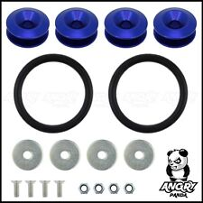 BLUE JDM QUICK RELEASE BUMPER FASTENERS DRIFT RACE RALLY