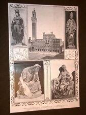 Esposizione di Siena nel 1904 San Sigismondo San Nicolò San Giovanni Sapienza