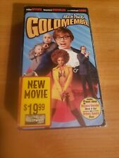 New listing Austin Powers: Goldmember Vhs New Mike Meyers, Beyonce Knowle, M. Caine Sealed