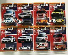 8 Car Set * 2021 Matchbox GLOBAL Series BMW Scania * Case B