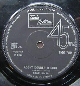 EDWIN STARR Agent Double O Soul/Back Street Tamla Motown TMG790 Northern Soul
