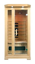 1 - 2 Person Far Infrared Canadian Hemlock Sauna Cabin w/Ceramic Heaters- ZY-001