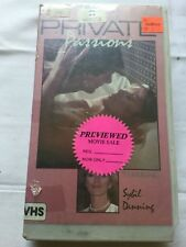 Private Passions (1985) VHS Sybil Danning, Susanne Ashley