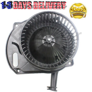 Blower Motor w/ Fan Cage Fits 06-10 Hummer H3 H3T Saturn Sky Pontiac Solstice