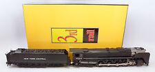 JH Sunset Models 3rd Rail Brass NYC 4-8-4 Niagra S-1b Engine #6024 & Tender