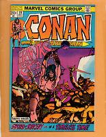 Conan The Barbarian # 19 FN+ to FN/VF