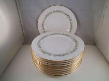 Vintage Minton Bone China April Set of 12 Salad Plates