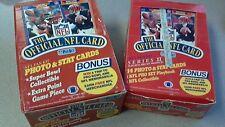 1989 Pro Set Football Series 1 & 2 Box Combo- Tons of Rookies Aikman & Sanders!