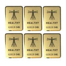 6Pcs Emf Protection Cell Phone Sticker Anti Radiation Protector Sticker Emf BlX2