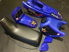 Yamaha Pw50 Plastic Kit with tank, seat and graphic kit blue