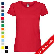 Fruit of the Loom Original T Lady-Fit Damen T-Shirt XS - XXL NEU