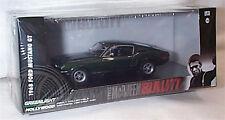Steve McQueen Bullitt 1968 Ford Mustang GT  1-43 Scale new Case ltd ed