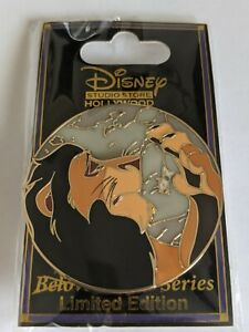 Scar The Lion King Dark Tales DSSH Disney Studio Store Hollywood LE300 Pin