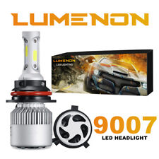 Lumenon 9007 HB5 LED Headlight Bulb Kit Low High Beam 6000K 90W 180000LM White.