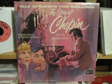 THE STORY OF CHOPIN-TALE SPINNERS FOR CHILDREN-UA LP-ROBERT HARDY-1962-VG+-ORIG.