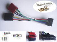 Câble adaptateur faisceau ISO 20 pin pour autoradio CLARION