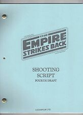 "STAR WARS ""The Empire Strikes Back"" Movie Script"