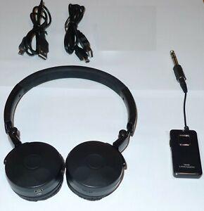 Wireless Metal Detector Detecting Headphones  + Transmitter - Low Lag