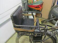 SCHWINN ANTIQUE VINTAGE CHILD BICYCLE SEAT