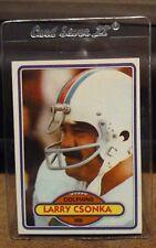 1980 Topps Football #485 Larry Csonka Running Back HOF Miami Dolphins NM/MT