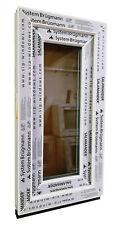Kunststofffenster Fenster Salamander, 40x80 cm bxh, weiß