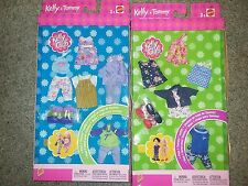 2 NEW BARBIE KELLY CLUB KELLY AND TOMMY FASHION GIFT SETS