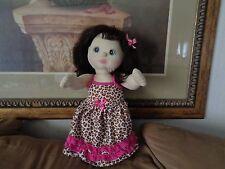 1985 Mattel My Child Doll Brunette Brown Hair Blue Eyes
