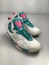 Men's Jordan True Flight White & Teal Shoes Size 13