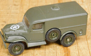 Solido WWII US Dodge WC-54 Panel Truck Estate Find