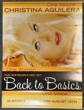 Christina Aguilera Back to Basics 2006 Promo Poster