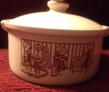 Holly Hobbie Vintage Baking Dish With Lid Oven Proof