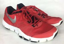 Men's Nike Flex Show TR 3 training shoes, Red/silver Size 9 Lightly Used