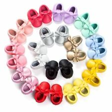 One Pair Baby Girls Princess Shoes Fringe Soft Moccasin Infant Toddler Girl Leat