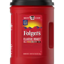 Folgers Classic Roast Ground Coffee (51 oz.) FREE SHIPPING