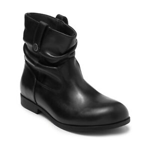 Birkenstock Sarnia Slouchy Leather Ankle Boot